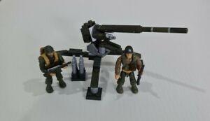Mega Bloks Call Of Duty Attack Turret 06819 2014 complete