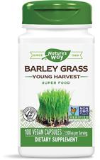 € 271,00 /  kg Nature's Way, Orge en herbe jeune récolte 500 mg, 100 gélules