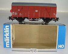 Märklin H0 4411 ged. Güterwagen Grs mit Schlusslicht 2-achsig der DB 2~ OVP#4735