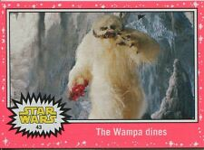 Star Wars JTTFA Neon Parallel Base Card #43 The Wampa dines
