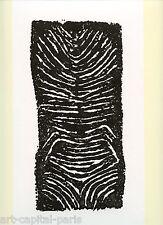 UBAC RAOUL LITHOGRAPHIE EMPREINTE 1971 DERRIERE LE MIROIR DLM N°195 LITHOGRAPH
