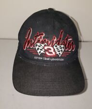 Vintage The Intimidator Dale Earnheardt Snapback Hat Baseball Cap 90s With Tags