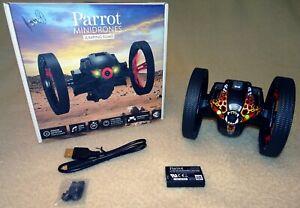 1A Zustand: Parrot MINIDRONES JUMPING SUMO, black / schwarz