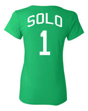 Hope Solo United States US Women's Soccer Team 2 Sides LADIES Tee Shirt 1091