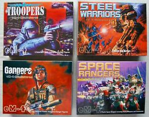 Various eM4 Miniature Sets - Rangers, Gangers, Steel Warriors - Multi-Listing