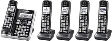 PANASONIC CORDLESS PHONE WITH LINK2CELL INCLUDES 5 HEADSETS *DM
