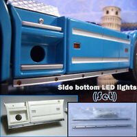 Side Bottom LED Lights for TAMIYA 1/14 SCANIA Tractor 56323 56318 R470 620 Truck
