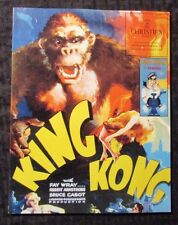 1994 Christie's East Hollywood MOVIE POSTERS VI Auction Catalog SC NM  King Kong