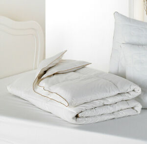 PURE NEW WOOL FILL 5 TOG DUVETS 100% Cotton Percale Case SUMMER LIGHTWEIGHT