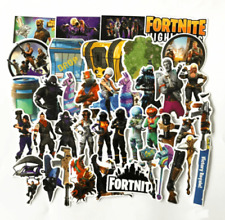 Fortnite Stickers Wall Decal Vinyl Car Laptop Party Bag Filler Waterproof 40 PC