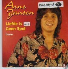 (389P) Arne Jansen, Liefde Is Geen Spel - 1996 CD