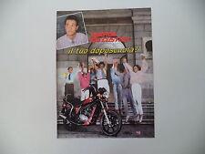 advertising Pubblicità 1985 MOTO LAVERDA 125 CUSTOM