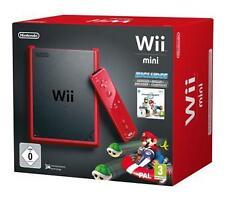 Nintendo Wii mini Mario Kart Bundle Rot Spielekonsole (PAL)