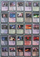 Babylon 5 CCG The Shadows Rare Cards Part 4/4 (St - Z)