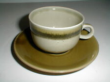 CP Colditz Porzellan Germany Green ANNABURG SINTOLAN Cup Saucer/s