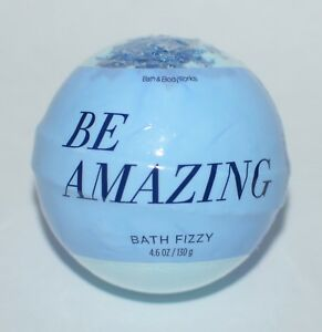 BATH & BODY WORKS BE AMAZING BRIGHT BLOOMS BATH FIZZY BOMB BALL 4.6OZ SCENTED