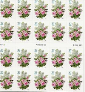 2004 37 Cent Garden Bouquet Booklet of 20, Scott #3836a, Mint NH