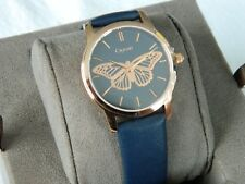 Clogau Navy Butterfly Wrist Watch RRP £330.00