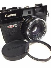 """Excellent++"" Canon Canonet QL17 G iii rangefinder film camera #7132"