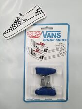 OLD SCHOOL BMX KOOL STOP VANS BRAKE PADS SHOES Blue