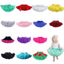 Kids Girls Toddler Tutu Fluffy Pettiskirt Princess Skirt Party Dancewear 1-8Year