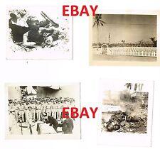 WWII RARE USMC PHOTO LOT GRAPHIC JAPANESE SOLDIERS DEAD DESTRUCTION PTO LOT #2