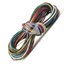 45pcs Mixed Waxed Cotton Beading Cords/string 1m Jewellery Making DIY