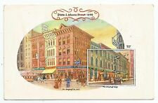 POSTCARD-UNITED STATES-CHICAGO-PTD. Advertising Card, The Berghoff Restaurant.
