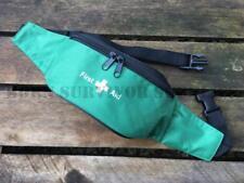 VUOTO KIT di pronto soccorso Marsupio Pouch-Verde trauma di emergenza medica Sport Carry