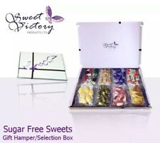 Sugar Free Sweets Pick and Mix Selection Gift Box Suitable For Diabetics 8x 50g