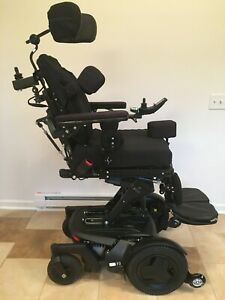 Permobil F3 Corpus Wheelchair - 65 miles, all 4 Functions, many extras/upgrades