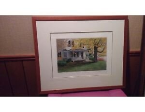 Shades of Autumn 265/450, First Snow 1980, signed Carol Collette