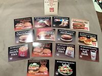 Envelope Of 14 1979-1982 Vintage Burger Chef Coupons INV-B11