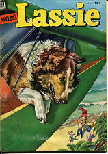 """MGM's """"LASSIE"""" Comic Book, No. 11 (April-June 1953)"""