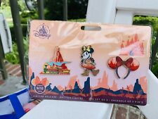 Minnie Mouse Main Attraction Disney Big Thunder Mountain Trading Pin Set IN HAND