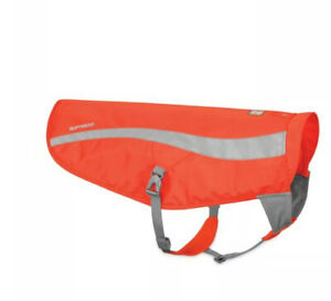 RUFFWEAR TRACK JACKET REFLECTIVE DOG VEST IN BLAZE ORANGE SZ L/XL NWT