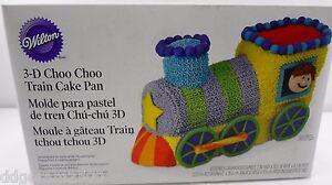 Wilton Cake Topper ~ Thomas the Train 3D Cake Pan Set ~ Birthday Party Cake