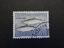 Greenland Fish Salmon 50 kroner Used