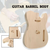 Unfinished DIY Electric  Barrel Body Polish Maple Wood For TL Style