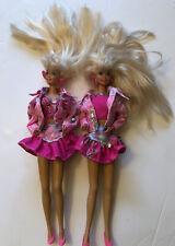 BARBIE - Paint N Dazzle 2 Vintage Mattel Dolls / Figures