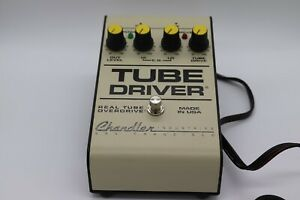 Chandler Tube Driver Real Tube Overdrive Rare Vintage Guitar Effect Pedal, GREAT