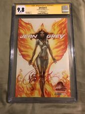Jean Grey #1 CGC SS 9.8 SDCC 2017 Signed J Scott Campbell Cover D Variant