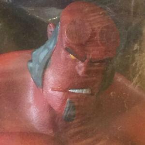 HELLBOY - LTD ED Sword Of Storms + Blood & Iron DVD SET + Gentle Giant Figure