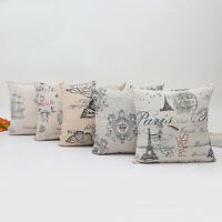 Pillow Case Cushion Retro Vintage Cover Printing Knitted Home Livingroom Decor
