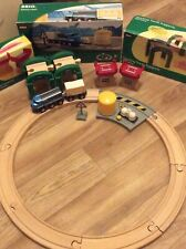 Brio Wooden Freight Circle Set With Accessory Sets Excellent Condition