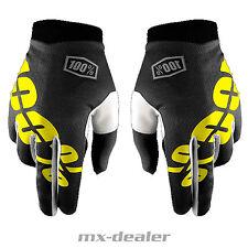 100% Prozent itrack Handschuhe Schwarz 2017 MTB DH MX BMX Motocross Enduro Quad
