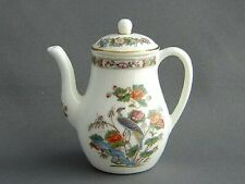 Wedgwood Miniature Coffee Pot (2½ inch) - Kutani Crane