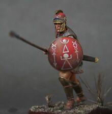 Tin Soldier, art, Liby-phoenician infantryman № 1, hoplite, Carthage, 54 mm