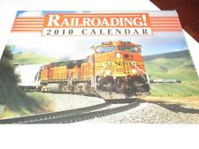 CALENDAR- RAILROADING 2010 - STILL SEALED - NEW - M6