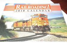 CALENDAR- RAILROADING 2010 - STILL SEALED - NEW - M6